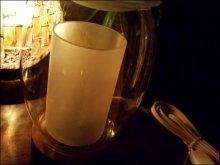 他の写真を見る3: インテリア性のあるアロマ。間接照明でリラックス【ルーメ】〜二重ガラスが美しい〜アロマランプ