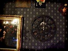 他の写真を見る3: 【再入荷】スチームパンクなギアの壁掛け時計 ファクトリー