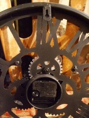 画像5: 【再入荷】スチームパンクなギアの壁掛け時計 ファクトリー