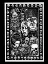 「古典的怪物たちの肖像」  Portrait of Classic Monsters 近藤宗臣直筆原画
