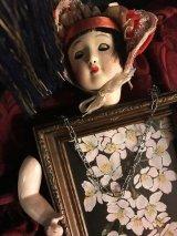 伽椰子作 「桜子」オブジェ