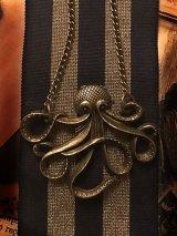 Vintage gold DevilfishーOctopus ネックレス