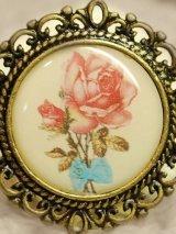 古美 アンティークテイストピクチャーアクセサリー「Antique Rose」