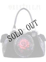 【再入荷】 [Red rose] romantic goth handbag