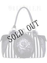 [再入荷] Black rose neo-victorian bag