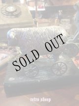 retro sheep ミニホィールシープ 車輪の羊