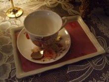 他の写真を見る2: 優雅な縁どりミニトレイ パープル