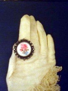 他の写真を見る1: 古美 アンティークテイストピクチャーアクセサリー「Antique Rose」