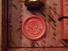 他の写真を見る2: Sealing Set 封蝋のプチボックスセット「薔薇」