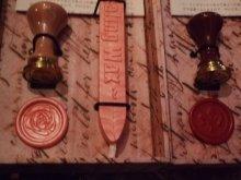 他の写真を見る1: Sealing Set 封蝋のプチボックスセット「薔薇」