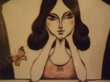 他の写真を見る1: uroko-少女ポストカード「ひとりの夜に」