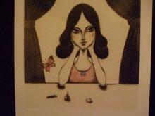 他の写真を見る2: uroko-少女ポストカード「ひとりの夜に」
