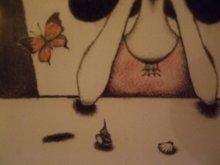 他の写真を見る3: uroko-少女ポストカード「ひとりの夜に」