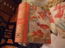 他の写真を見る2: 【再入荷】写実金魚柄本型・カード入りスペシャルボックスセット