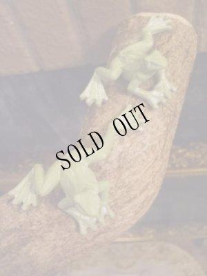 画像5: 蛙のちいさな置物・グリーン ムーブ・フロッグ