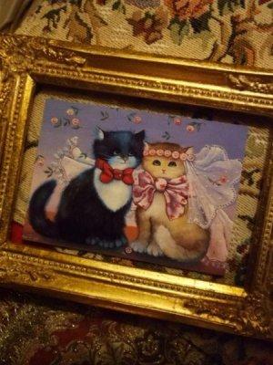 画像1: Renate Koblinger Cat Post Card