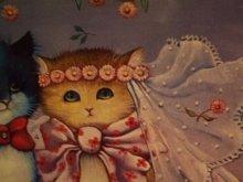 他の写真を見る3: Renate Koblinger Cat Post Card