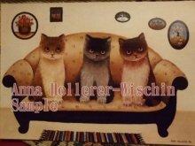 他の写真を見る1: [再入荷]nna Hollerer-Wischin Cat Post Card