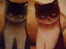 他の写真を見る2: [再入荷]nna Hollerer-Wischin Cat Post Card