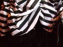 他の写真を見る3: CIRCUS 白黒ストライプタフタスカート