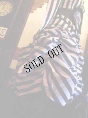 画像3: CIRCUS 白黒ストライプタフタスカート