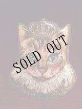 【追加】Royal Crown 猫のプリントブローチ