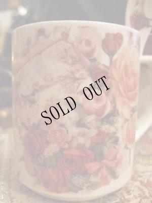 画像4: 【再入荷】ボックスインマグカップ スプーンつき 薔薇と手紙のブーケ