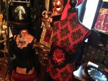 他の写真を見る1: [再入荷] 赤い薔薇のベルトWaist elastic belt RED ROSE in lace frame