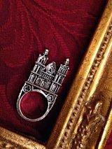"""3D CATHEDRAL RING"" gothic towers タワーのリング"