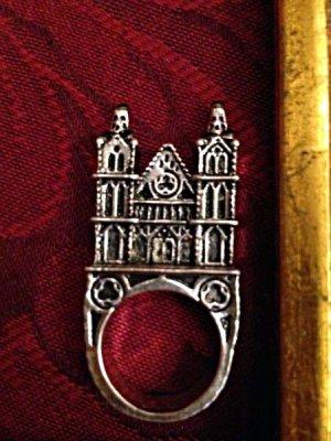 """画像5: """"3D CATHEDRAL RING"""" gothic towers タワーのリング"""