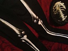 他の写真を見る3: Skeleton leggings bones trousers horror pants 骨レギンス