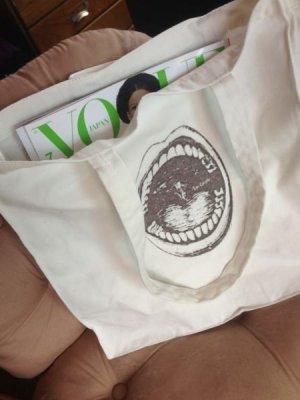 画像4: [再入荷]The Mouth ショルダートートバッグ