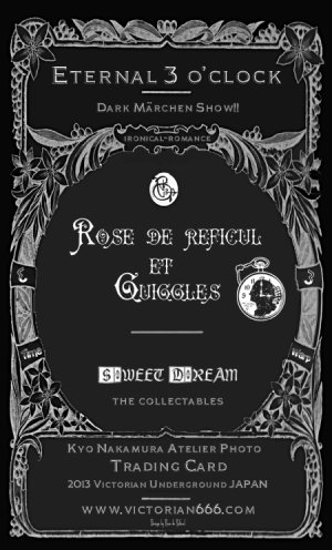 画像5: Rose de Reficul et Guiggles Trading Card colection set