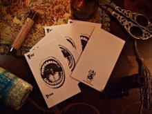 他の写真を見る2: 小気味な古典版画  The Mouth メッセージカード5枚セット