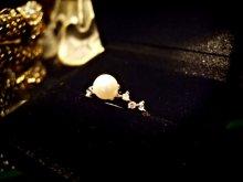 他の写真を見る2: Giselle 本真珠×CZ★CZ8石輝きラインデザインリング