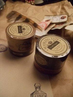 画像4: クラフト紙のマスキングテープ