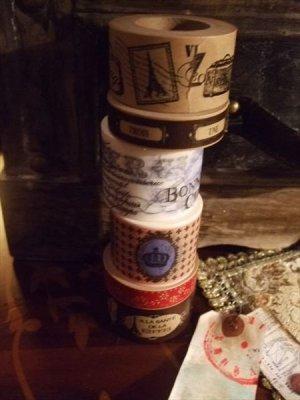 画像5: クラフト紙のマスキングテープ
