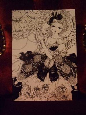画像2: 「天使の休日」 A5アートカード