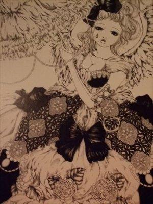 画像1: 「天使の休日」 A5アートカード
