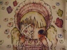 他の写真を見る1: 少女主義的水彩画家たま エコバッグ ベビーピンク