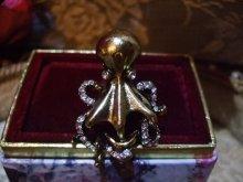 他の写真を見る3: Vintage gold DevilfishーOctopus ring