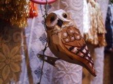 他の写真を見る3: ウッデンデコ フクロウ クリップ
