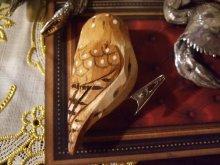 他の写真を見る1: ウッデンデコ フクロウ クリップ