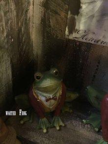他の写真を見る3: the Waiter Frog  object doll
