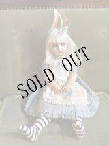 Mari Shimizu 球体関節人形「うさぎ耳のアリス」