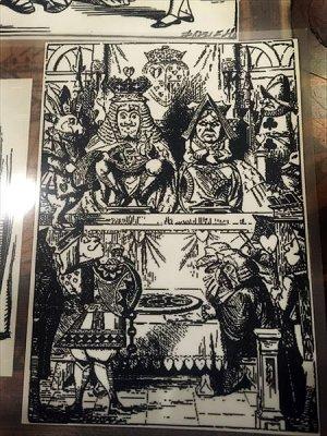 画像3: 【再入荷】不思議の国のアリス アイロン転写シートセット