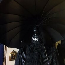 "他の写真を見る2: [再入荷]gothic ""WITCH""umbrella classical pagoda"