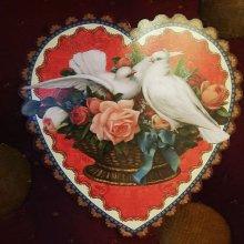他の写真を見る2:   DOVES HEART ダイカットスモールカード<無地多用途>