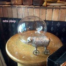 他の写真を見る3: retro sheep ミニホィールシープ 車輪の羊