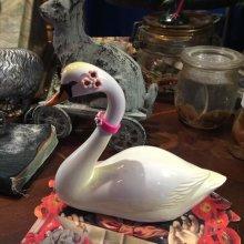 他の写真を見る1: 【再入荷】オブジェティックペン 白鳥のペン